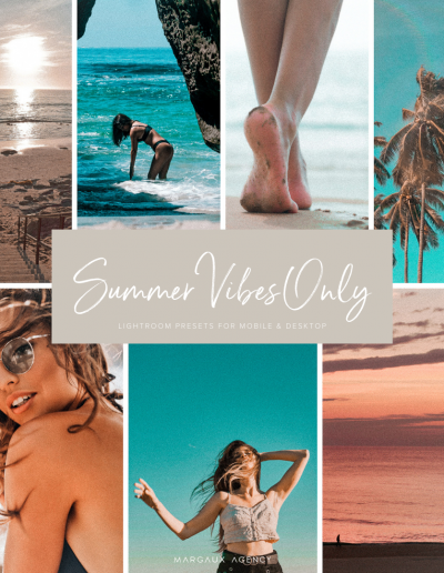 Summer Vibes Only Preset Collection